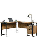 Industrial L-Shaped Home Office Desk 426454