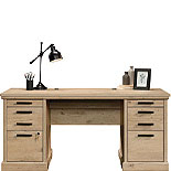 Classic Prime Oak Executive Computer Desk 426487