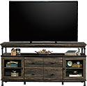 Industrial Wood & Metal Credenza TV Stand 426502