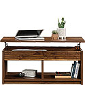 Lift-Top Coffee Table with Storage Shelves 426504