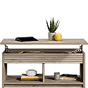 Lift-top Coffee Table with Open Shelves 426506