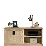 Spacious Prime Oak Wood Storage Credenza 427018
