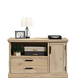 Prime Oak Filing Cabinet with Drawer and Door 427020