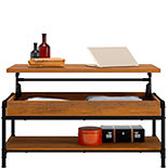 Industrial Pipe Lift-Top Coffee Table 427122