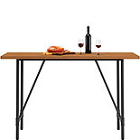 Industrial Counter-Height Dining Table 427132