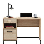 Pedestal Home Office Desk with Drawers 427256