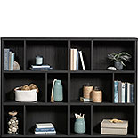 Modular Cube Storage Display Bookcase in Oak 427259