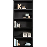 5-Shelf Display Bookcase in Raven Oak Finish 427262
