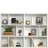 Short Cubby Display Bookcase in White Finish 427266