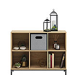 6 Cube Cubby Bookcase in Charter Oak Finish 427286