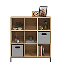 9 Cube Cubby Bookcase in Charter Oak Finish 427303