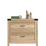Orchard Oak 2-Drawer Lateral File Cabinet 427327