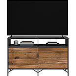 Modern Wood and Metal TV Credenza 427350