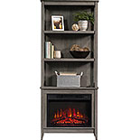 Display Bookshelf with Electric Fireplace 427373
