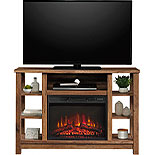 Fireplace Credenza TV Stand with Storage 427374