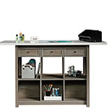 Durable Craft Work Table with Storage 427456