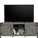 Farmhouse TV Credenza in Mystic Oak Finish 427689