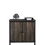 Industrial Storage Cabinet in Carbon Oak 427847