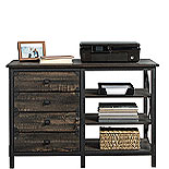 Industrial Metal & Wood Credenza with Drawers 427849
