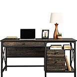Industrial Computer Desk with Storage 427851