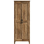 Two-Door Storage Cabinet in Pine Finish 427958