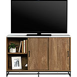 Modern TV Stand with Storage & White Top 427969