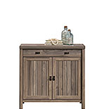 Washed Walnut 2-Door Library Base Cabinet 428192
