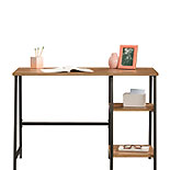 Industrial Home Office Desk with Shelves 428197