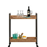 Industrial 2-Shelf Rolling Cart 428201