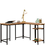 Modern L-Shaped Desk with Storage 428204