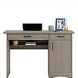 Silver Sycamore Home Office Desk with Drawers 428235