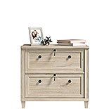 2-Drawer Lateral File Cabinet in Chalk Oak 428241