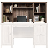 Washed Walnut Home Office Hutch for Desk 428726