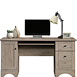 Wood Home Office Desk in Laurel Oak 429448
