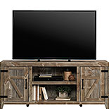 Rustic Cedar Farmhouse TV Stand with Storage 429574