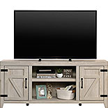 Chalked Chestnut Farmhouse TV Credenza 429575