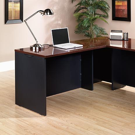 Via Desk Return 401446 Sauder, Sauder Office Furniture Via Collection