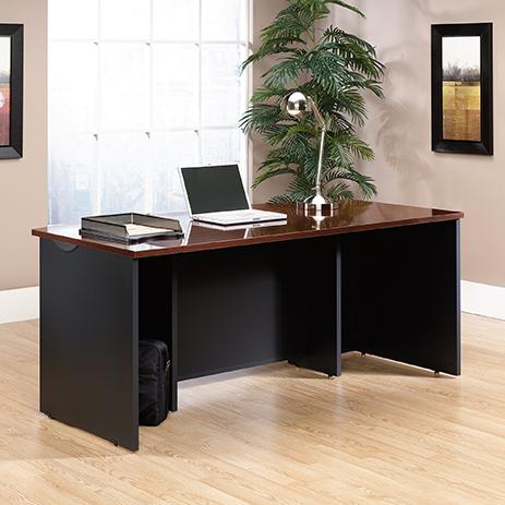 Via Executive Office Desks 401447, Sauder Office Furniture Via Collection
