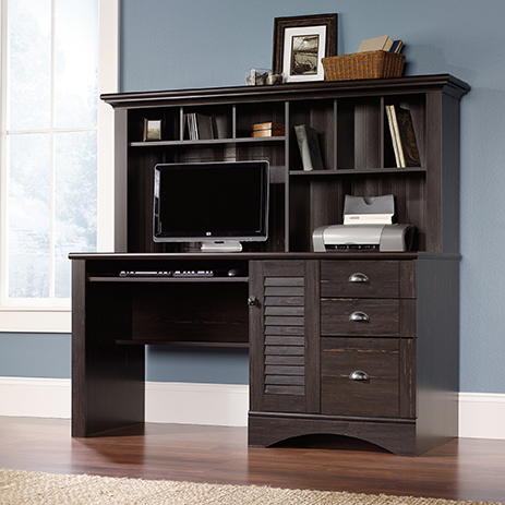Computer Desk With Hutch 401634