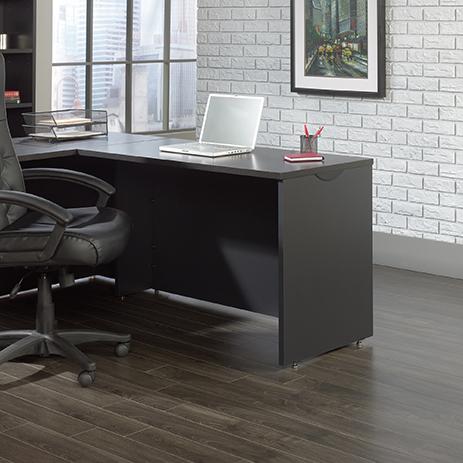 Via Desk Return 419594 Sauder, Sauder Office Furniture Via Collection