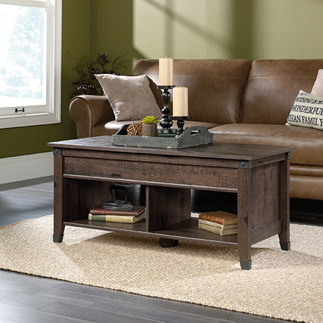 Carson Forge Lift-top Coffee Table 420421 Sauder - Sauder Woodworking