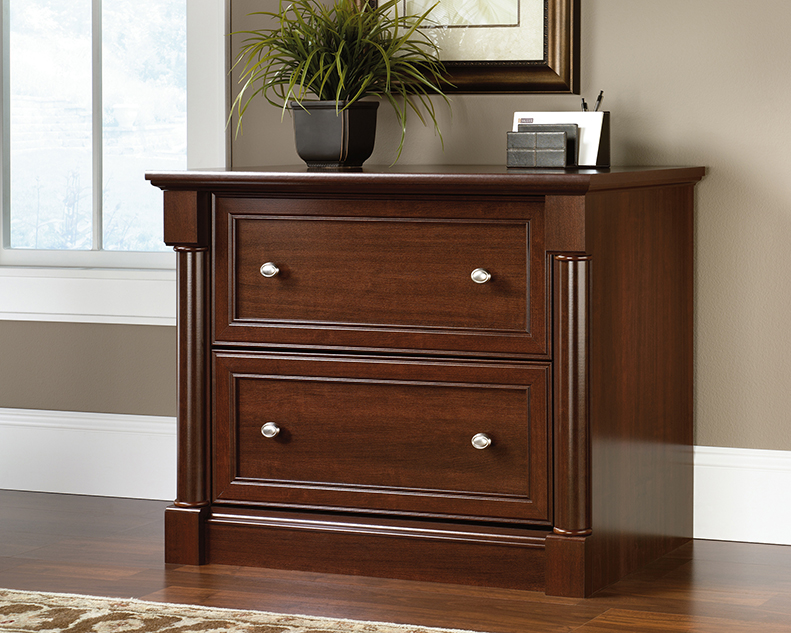 Magnificent Palladia Lateral File Cabinet Cherry Finish 412015 Home Interior And Landscaping Ologienasavecom