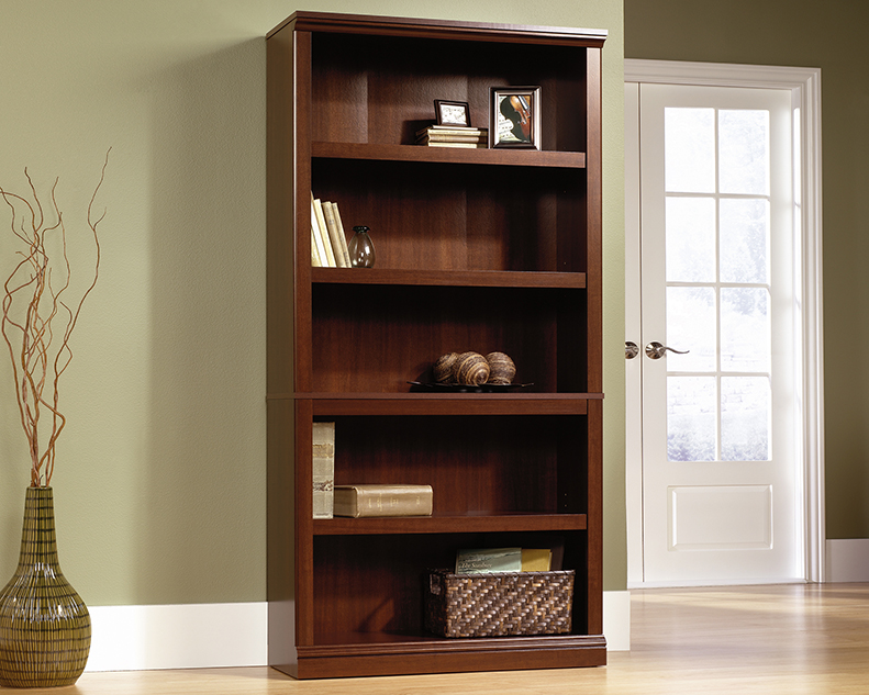 Sauder Select 5 Shelf Bookcase 412835 Sauder Sauder