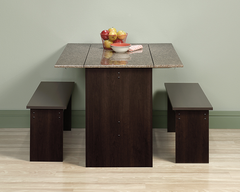 Pleasant Beginnings Trestle Table With Benches 413854 Sauder Forskolin Free Trial Chair Design Images Forskolin Free Trialorg