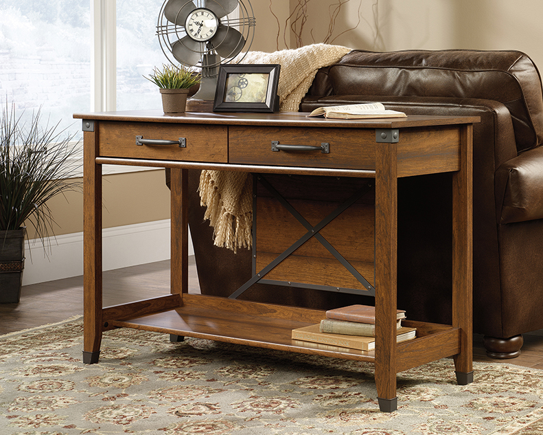 Incredible Carson Forge Sofa Table 414443 Sauder Sauder Woodworking Ncnpc Chair Design For Home Ncnpcorg