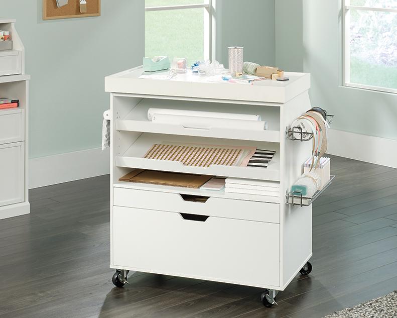 Sauder Select Craft Cart 417047 Sauder Sauder