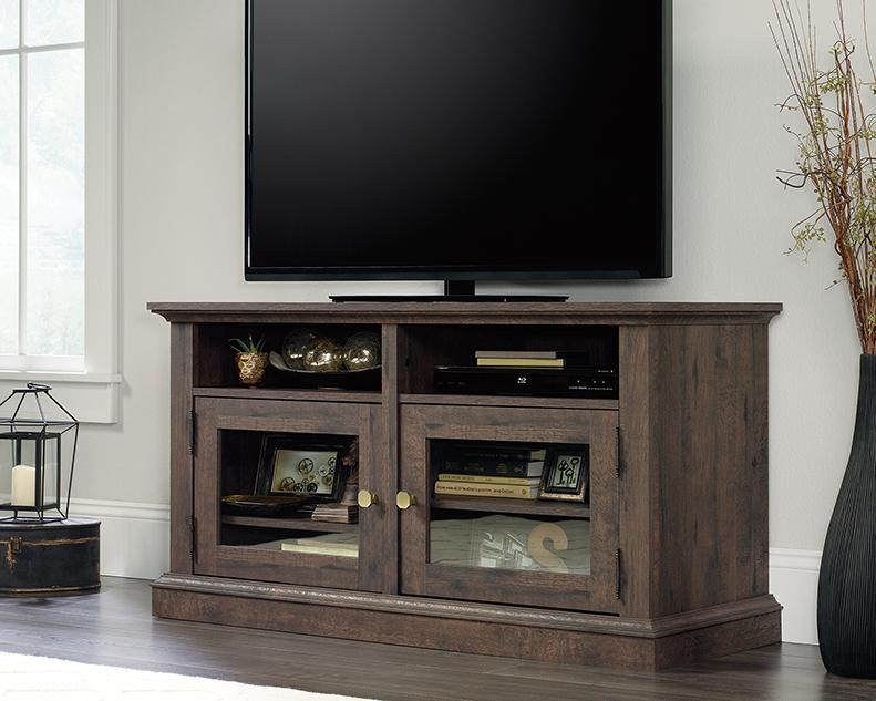 Dark Wood Tv Credenza : Furniture appealing tv credenza for your living room decor