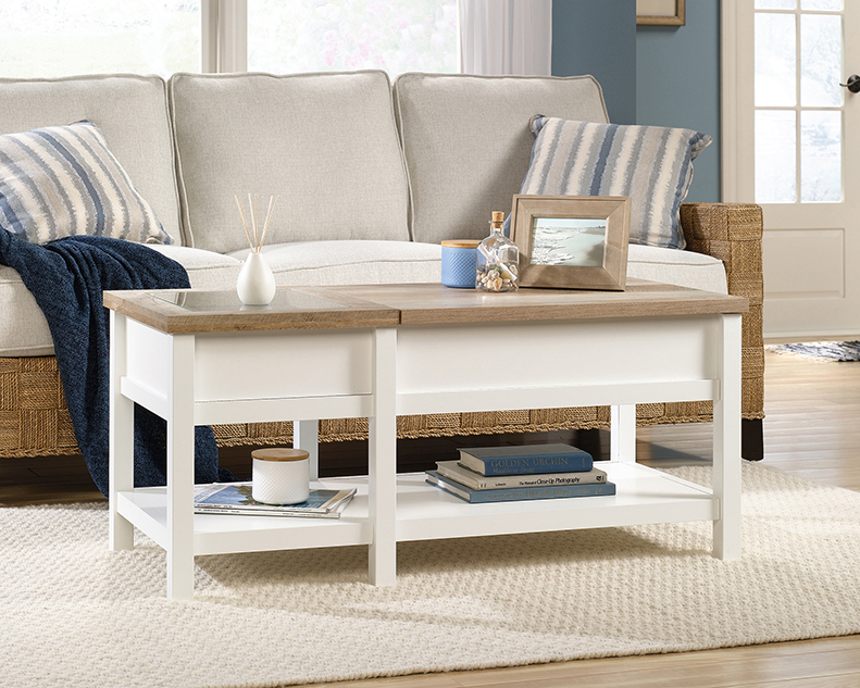 Fantastic Cottage Road Lift Top Coffee Table 421463 Sauder Ncnpc Chair Design For Home Ncnpcorg