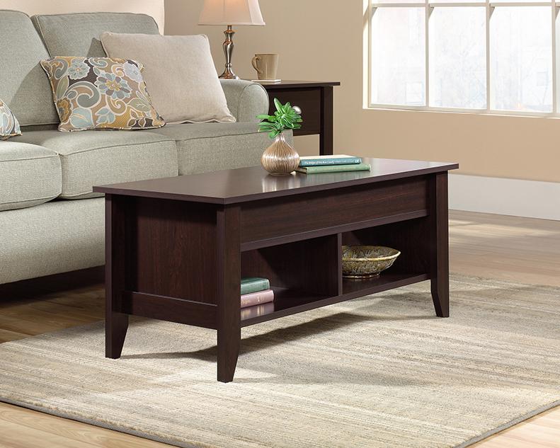 Pleasing Shoal Creek Lift Top Coffee Table 422197 Sauder Ncnpc Chair Design For Home Ncnpcorg