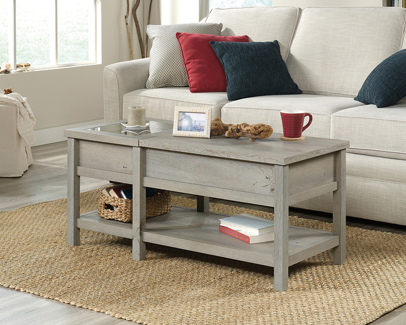 Sensational Cottage Road Lift Top Coffee Table 422480 Sauder Ncnpc Chair Design For Home Ncnpcorg